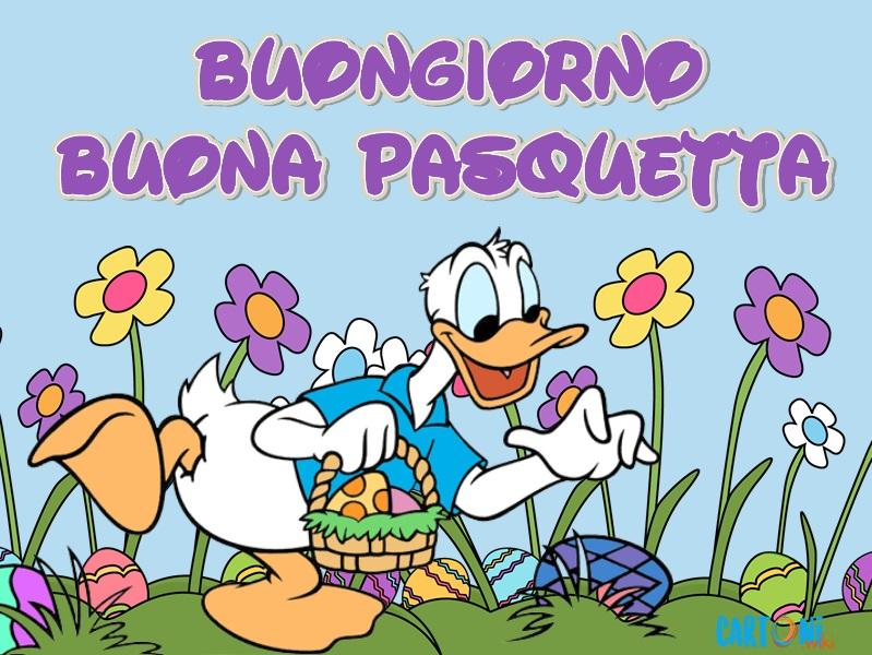 Buongiorno Buona Pasquetta - Cartoni animati