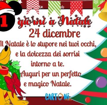 Buongiorno e buon 24 dicembre - Cartoni animati