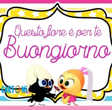 Buongiorno con Calimero e Priscilla - Cartoni animati