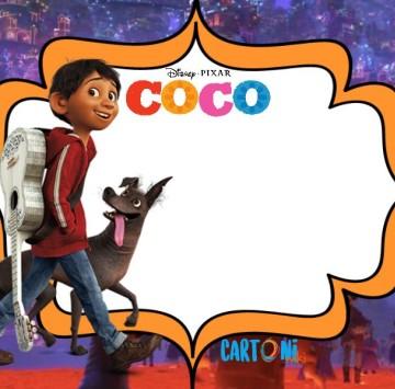 Coco Crea Biglietto di auguri - Cartoni animati