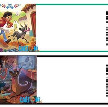 Coco Disney Inviti - Cartoni animati
