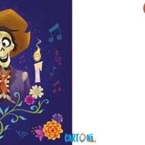 Invito con Miguele  Hector da stampare - Inviti feste compleanno