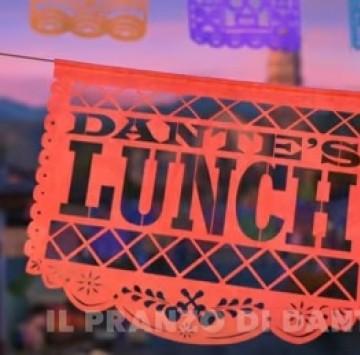 Cortometraggio Pixar Il pranzo di Dante  - Cartoni animati