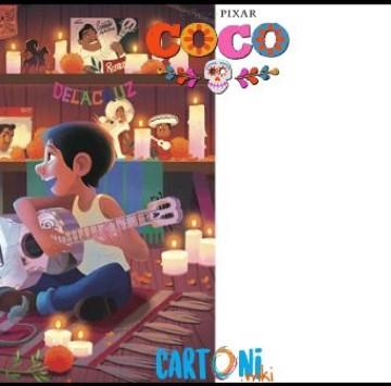 Crea Invito di Coco - Cartoni animati