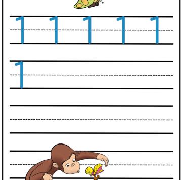 Numero 1 con George - Cartoni animati