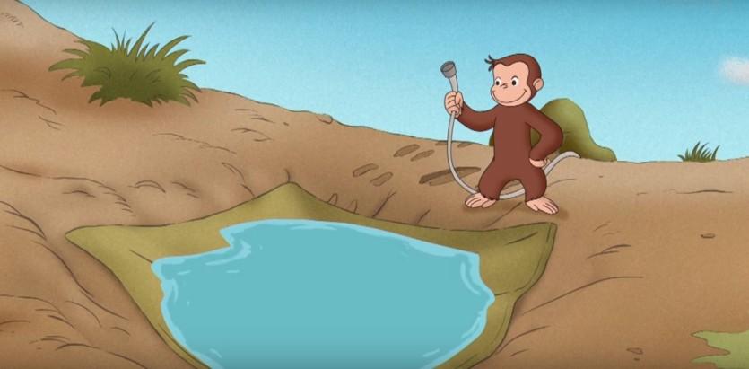 Testo Sigla Curioso come George - Cartoni animati