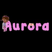 Aurora Dottoressa Peluche - Nomi
