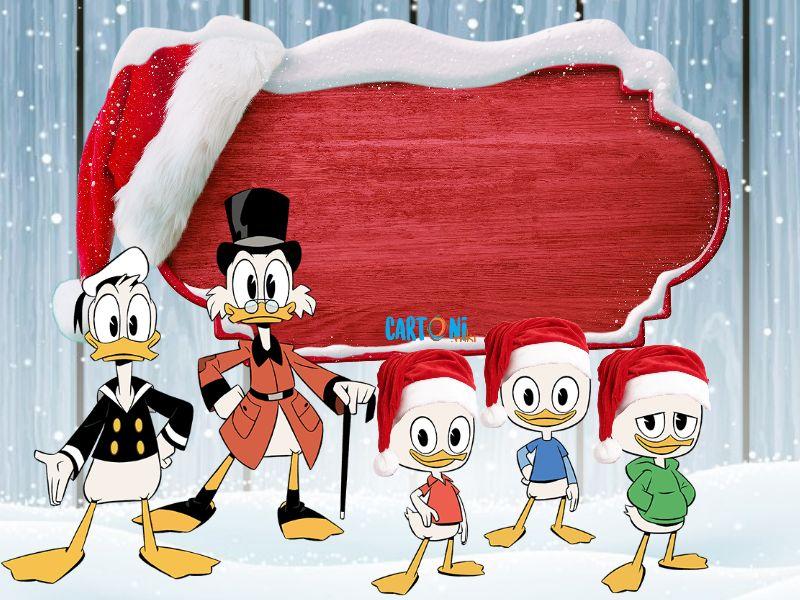 Auguri Di Natale Wikipedia.Stampa Biglietto Auguri Di Natale Cartoni Animati