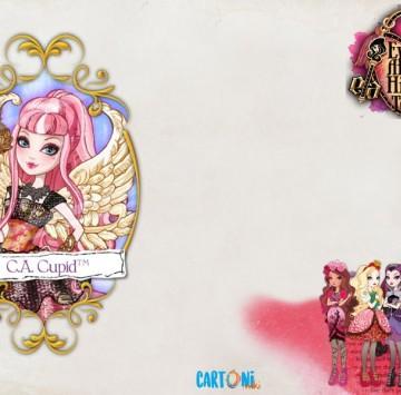 Ever After High Biglietto auguri Cupid - Cartoni animati