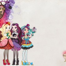 Inviti Ever After High - Inviti feste compleanno