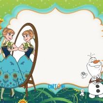 Frozen Fever Biglietti di auguri da stampare - Biglietti di auguri