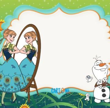 Frozen Fever Biglietti di auguri da stampare - Cartoni animati