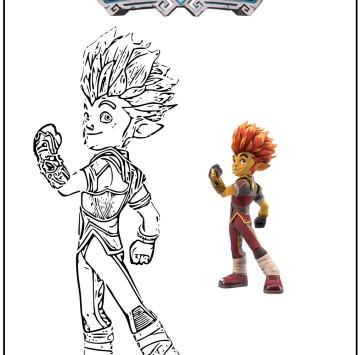 Gormiti disegni da colorare - Cartoni animati