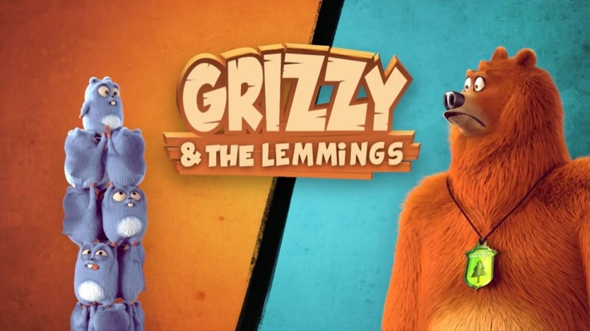 Grizzy e i Lemming - Cartoni animati