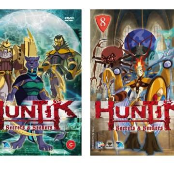 Huntik Copertine Dvd Prima serie - Cartoni animati