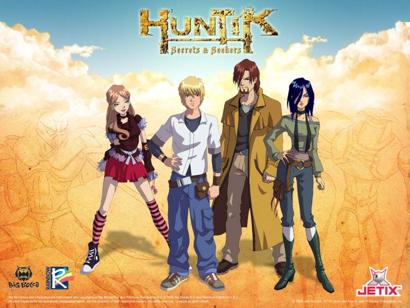 Huntik - Secrets & Seekers - Cartoni animati