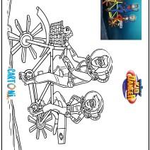 Disegni da colorare Kid Danger - Disegni da colorare