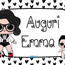 Lol surprise Black Tie Auguri Emma - Auguri Emma