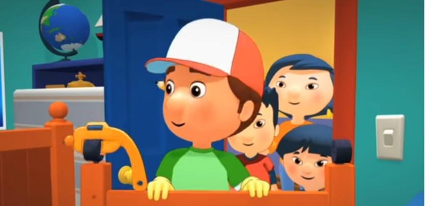 Manny tuttofare - Cartoni animati