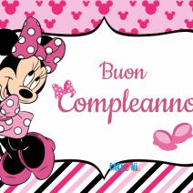 Minnie Buon compleanno - Buon compleanno