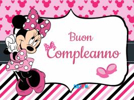 Minnie Buon compleanno