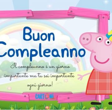 Buon compleanno con Peppa Pig - Cartoni animati