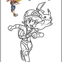 Pokémon disegni da colorare - Disegni da colorare