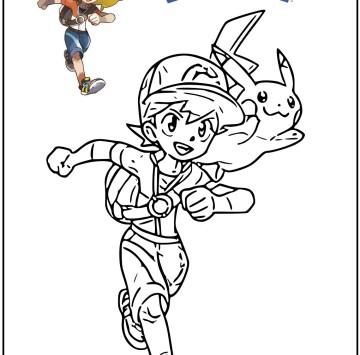 Pokémon disegni da colorare - Cartoni animati