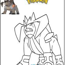 Pokémon disegno Trebbian da colorare - Stampa e colora