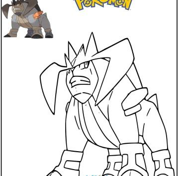 Pokémon disegno Trebbian da colorare - Cartoni animati