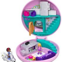 Polly Pocket Cofanetto Pigiama Party, con 2 Mini Bambole - Giocattoli