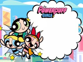 Invito compleanno Powerpuff girls