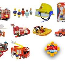 Giocattoli di Sam il pompiere - Giocattoli