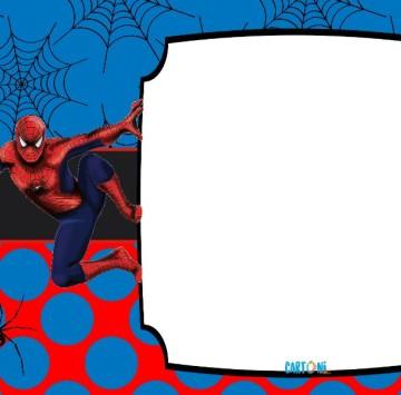Spiderman Biglietti di auguri - Cartoni animati