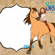 Spirit Riding Free Invito Whatsapp - inviti compleanno online
