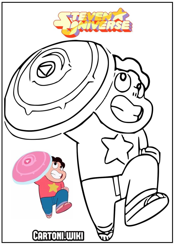 Steven Universe Disegni da colorare - Cartoni animati