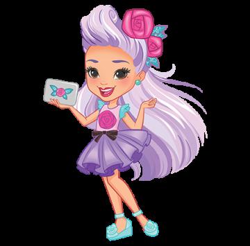 Sunny Day personaggio Blair - Cartoni animati