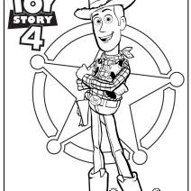 Toy Story 4 Disegni da colorare - Disegni da colorare