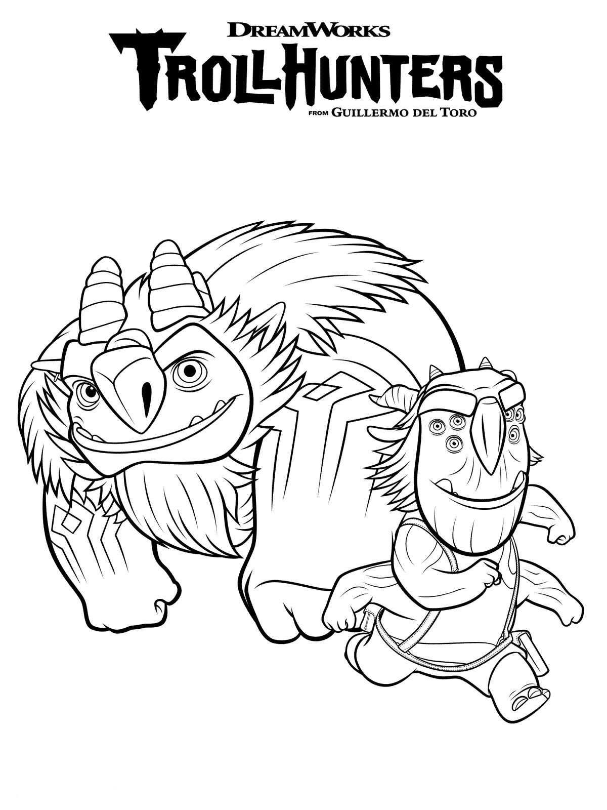 Colora Jim Di Trollhunters Cartoni Animati