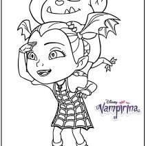Disegno Vampirina e Gregoria - Disegni da colorare