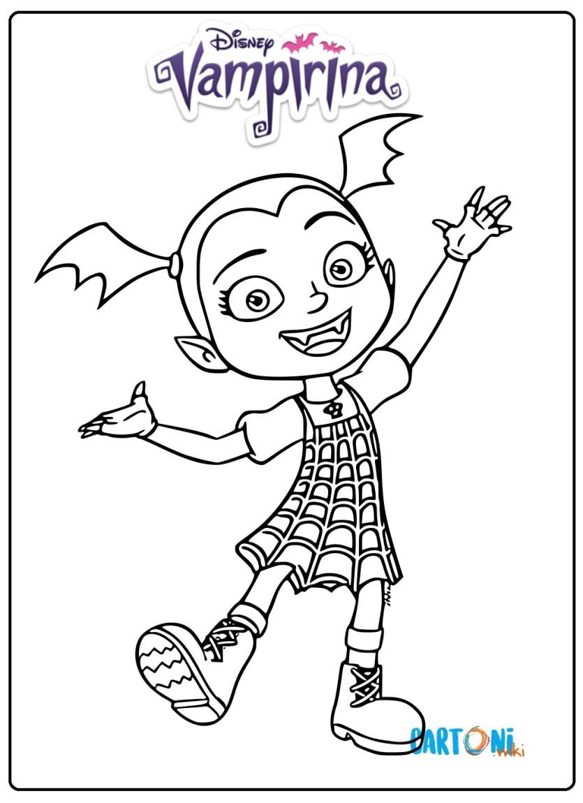 Vampirina Disegno Cartoni Animati