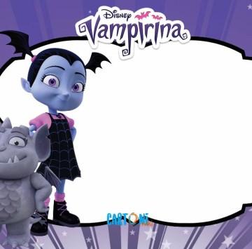 Vampirina Template - Cartoni animati