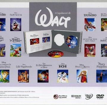 I Capolavori di Walt 2018 - collezione dvd Disney Classic - Cartoni animati