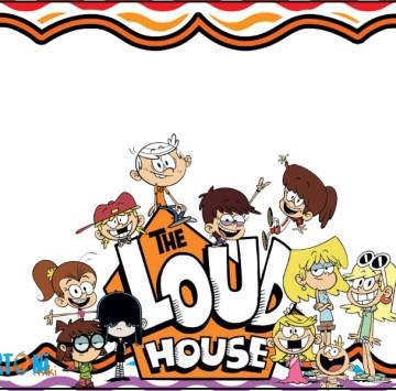 The Loud House party invitation - Cartoni animati