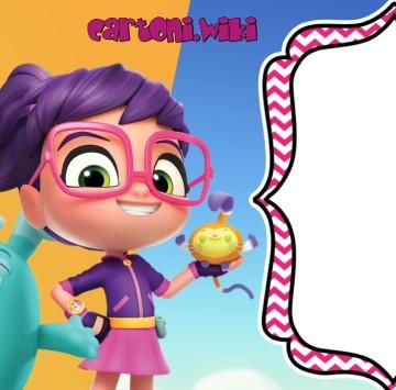 Abby Hatcher inviti feste compleanno - Cartoni animati