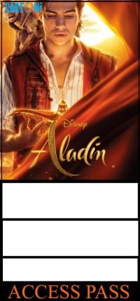 Aladdin inviti compleanno gratis online - Inviti feste compleanno