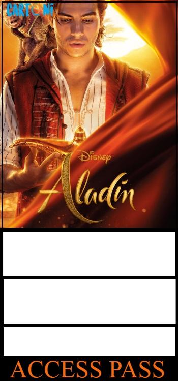 Aladdin inviti compleanno gratis online - Cartoni animati