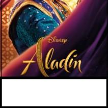 Inviti Aladdin festa di compleanno bambini con il Genio  - inviti compleanno online
