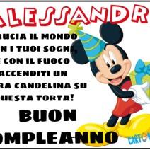 Alessandro buon compleanno - Buon compleanno