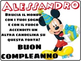 Alessandro buon compleanno